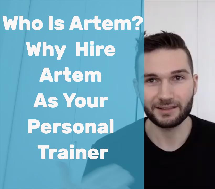 Personal Trainer Vancouver Artem