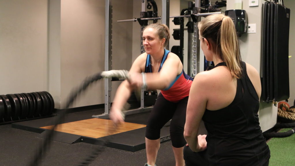 Training with ropes can help to build more explosive power