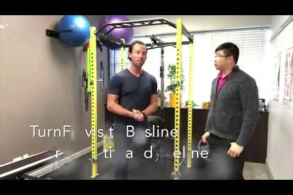 We meet up with Dr Kody at Baseline chiropractic -TurnFit In The Community