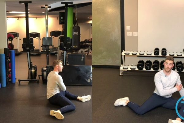 How to do a 90 90 hip stretch